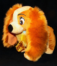 Just Play Disney Lady and The Tramp Plush Stuffed Cocker Spaniel Dog 10 ... - $17.99