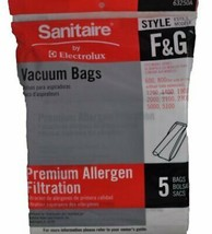Sanitaire Style F and G Premium Allergen Filtration Vacuum Bags, 5 Per Pack - $12.48