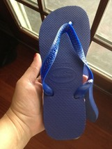 Havaianas Flip Flops  New Women 's Sandals Shoes Blue 6 - $21.60