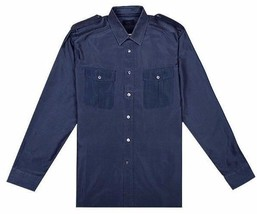 "Lanvin Silk & Cotton Shirt  Size 42 - 16 1/2""- L  Excellent condition - $169.00"