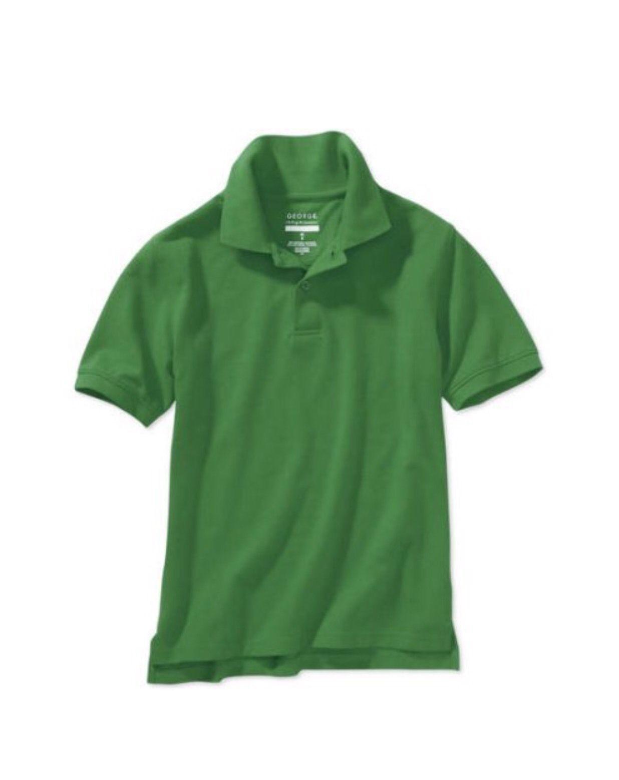 3193a7edcd George Girls School Uniform Long Sleeve Polo Shirt
