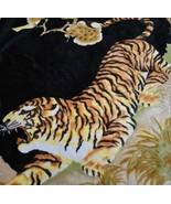 San Marcos Tiger Reversible Reverse Bild Überwurfdecke 86.5x68.5 - $155.91