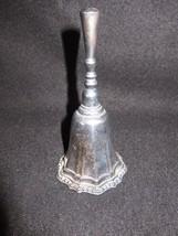 70s Vtg Silverplated Hostess Bell Unpolished Hudson Manor Collection HMC Avon - $16.82