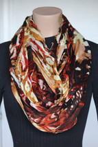 NEW Collection 18 Eighteen Women's Neck Infinity Scarf Rose Dust  22x36 - $10.88