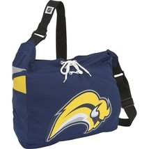 BUFFALO SABRES NHL JERSEY FABRIC STYLE MVP MESSENGER TOTE BAG HANDBAG NEW - $17.89