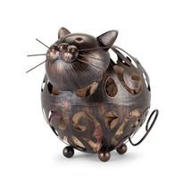 Cork Holders, Whiskers Cat Tabletop Decorative Metal Rustic Animal Cork ... - $26.99