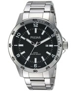 Pulsar Men's Quartz Stainless Steel Dress Watch Model: PT3791X - $89.95