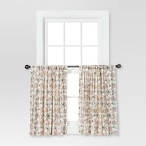 Curtain Tiers - Multi Floral - Threshold - $24.02