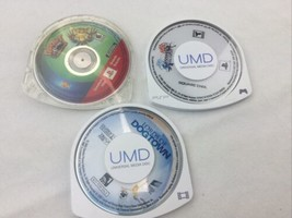 PSP three Used good condition UMD Games and Movies lot - $15.88