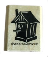 Rubber Wood Stamp Stamping Crafting Stampin Up Bird House - $9.89