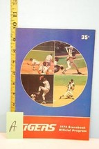 1974 Detroit Tigers Scorecard & Program v Milwaukee Brewers Scored June 27 - $11.96