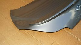 08-13 Infiniti G37 Coupe Rear Trunk Lid Tail Gate W/ Spoiler & Back-Up image 5