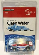 Greenlight Collectibles Limited Edition The Race to Clean Water Race Car Veolia - $29.17