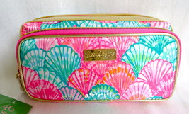 Lilly Pulitzer Make It Cosmetic Makeup Case Oh Shello! NWT - $42.00