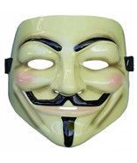 V For Vendetta Collector's Edition Costume Mask White - $29.98