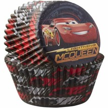 Cars 3 50 Ct Baking Liners Cups Party Cupcakes Disney Wilton - $2.96