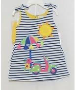 Rare Editions 2 Piece Set Summer Dress Scooter Umbrella Bloomers Size 12... - $22.00