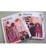 McCall's Two Packages Craft Doll Patterns Corner Kids Sewing Patterns Su... - $15.99