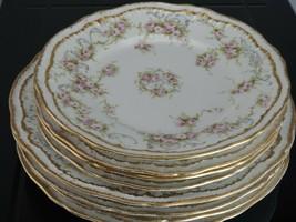 Haviland Limoges Schleiger 340 Salad and Bread Plates 4 of Each - $135.58
