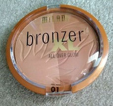 Milani Bronzer XL All Over Glow 01 NEW - $8.00