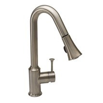 American Standard 4332.300.075 Pekoe Pull-Down Sprayer Kitchen Faucet, Stainless - $275.00