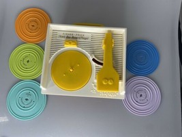 Vtg 2014 Version Mattel Fisher Price Music Box Record Player *Works* 5 R... - $28.01