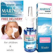 Marisol Isotonic Solution Sea Salt Children Adult Nasal Spray Blocked No... - $10.99