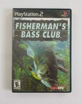 Fishermans Bass Club PS2 Game 2002 Agetec Playstation 2 - $4.99