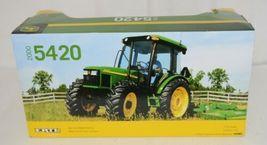 John Deere TBE15357 Die Cast Metal Replica 5420 Tractor Functional Loader image 5