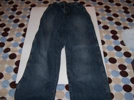 Wrangler Jeans Dark Blue Carpenter Style Size 14 Boy's EUC - $14.58