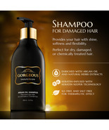 Gorgeous! ARGAN OIL SHAMPOO  FOR DAMAGED HAIR  sls and sodium chloride free - $13.99