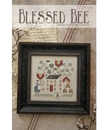 Blessed Bee cross stitch chart  With Thy Needle  - $12.00