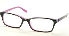 New Prodesign Denmark 1731 6022 Shiny Black /PINK Eyeglasses Frame 51-16-135mm - $73.76