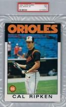 1986 Super #45 Cal Ripken Jr. Orioles  PSA 7 NEAR MINT - $148.45