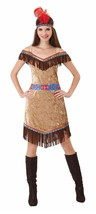 Indian Lady Deluxe, Womens Costumes, Pocahontus Fancy Dress - $23.44