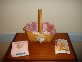 Longaberger 1999 Horizon Of Hope Basket Combo - $23.99