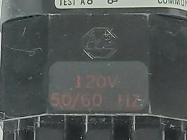 ALLEN BRADLEY 800T-PT26 PUSH BUTTON RED LENS SER. N W/ 800T-XA SER. C CONTACT image 2