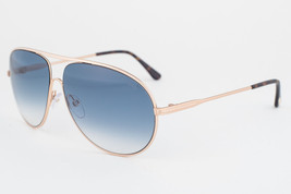 Tom Ford Cliff  Gold / Blue Sunglasses TF450 28P - $195.02
