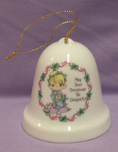 Precious Moments Ornament Delightful Christmas 1995 - $7.91