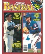 Carlton Fisk unsigned Chicago White Sox Athlon Sports 1990 MLB Baseball ... - $10.00