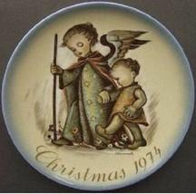 Hummel Schmid 1974 Christmas Plate - Guardian Angel - $19.79