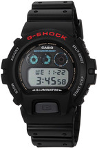 Casio Men's G-Shock DW6900-1V Black Resin Sport Watch - $165.64