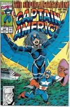 Captain America Comic Book #389 Marvel Comics 1991 FINE+ - $1.75