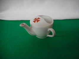 Vintage Red Cross White Porcelain Invalid Cup - $94.05