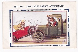 Hey You Don't Be So Damned Affectionate Vintage Postcard A. Taylor - $3.36