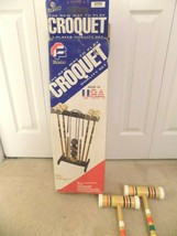 Forster 4 Player Quality Croquet Set (Brand New in Box) - $39.59