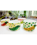 Napkin Rings 4pk Papier Mache' Peppers  - $15.95