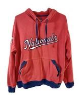 Majestic Washington Nationals Medium Hoodie Red  - $14.84