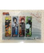 Naruto-Clear Bookmark set new Kakashi i ai ra sasuke naruto anime goods ... - $55.61
