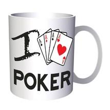 I love poker 11oz Mug cc951 - $11.98